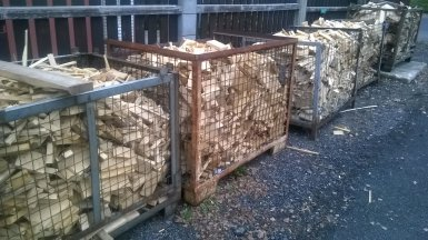 Palivové dřevo čerčany